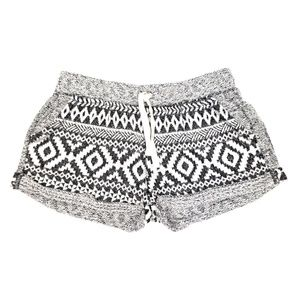 Out from Under black white lounge shorts S